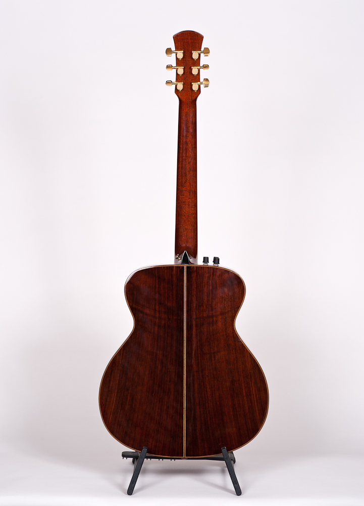 Sobell Archtop Model 3 back