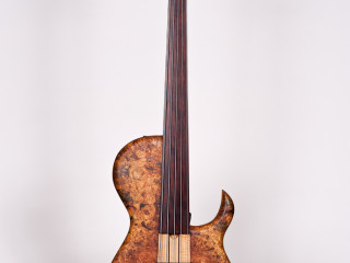 Steve Sukop Custom 5-string Fretless Bass ON HOLD