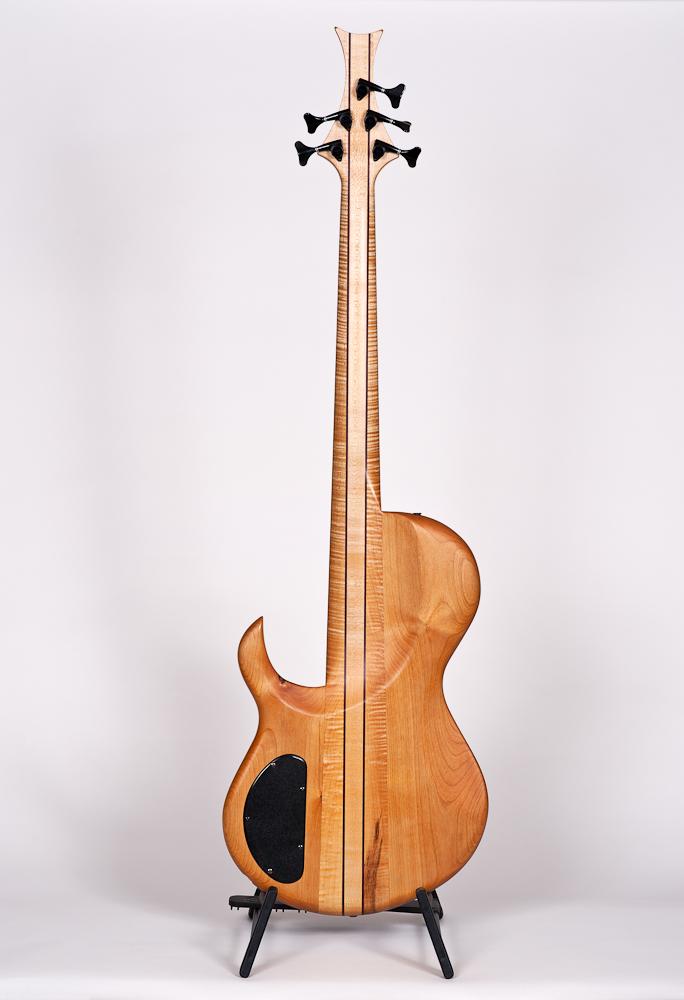 Steve Sukop Custom 5-string Fretless Bass