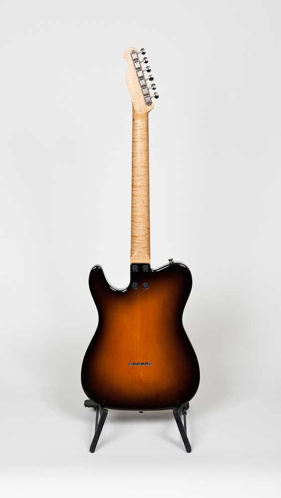 Giebitz Custom Short Scale Tele - Alder body/Maple cap, Rio Grande PU (new)