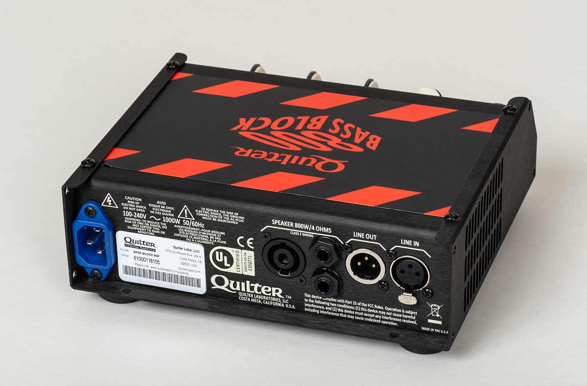 Quilter Bass Block 800 Head